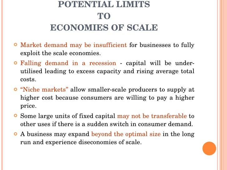 economies of scale scope essay Differences between economies of scale essay economies of scale, economies of scope and learning economies should be used by management for the benefit of the.