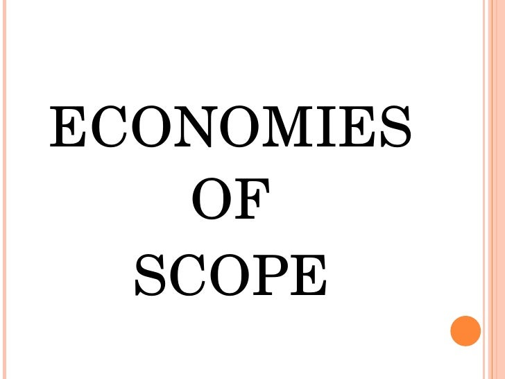 economies of scope - photo #16