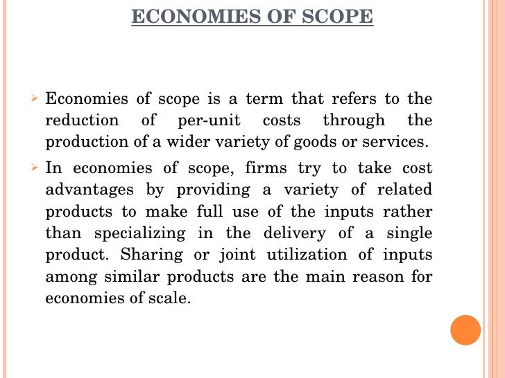 economies of scope - photo #6
