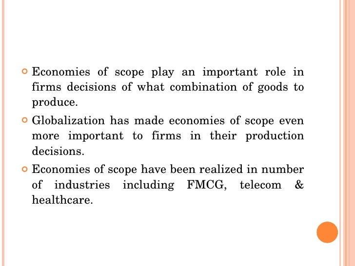 economies of scope - photo #17