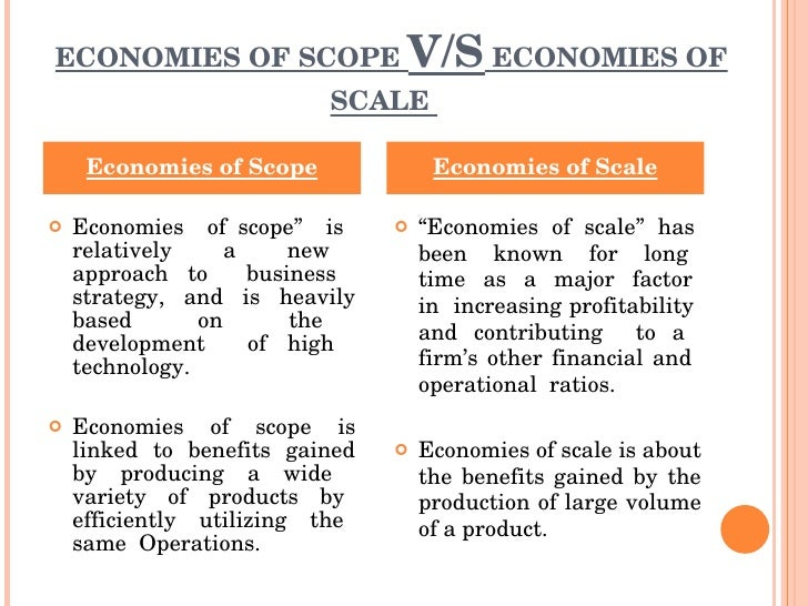 economies of scope - photo #2
