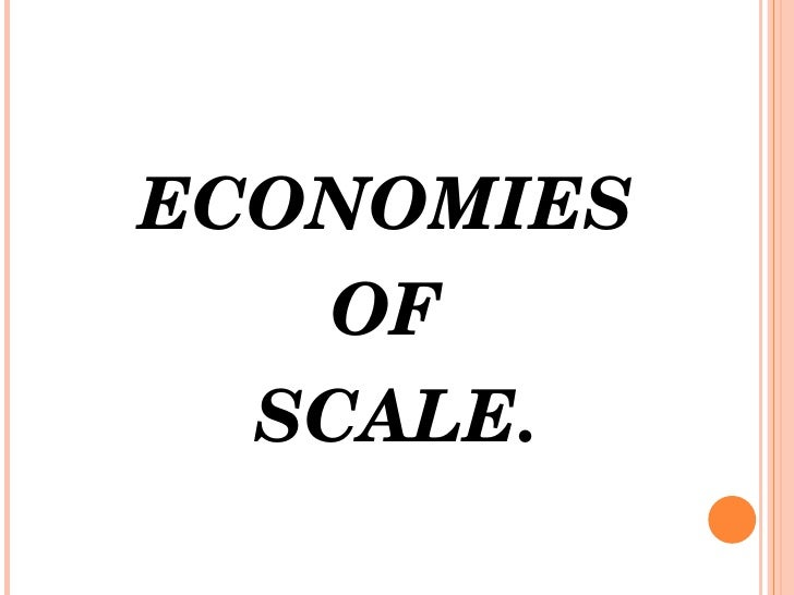 economies of scope - photo #25