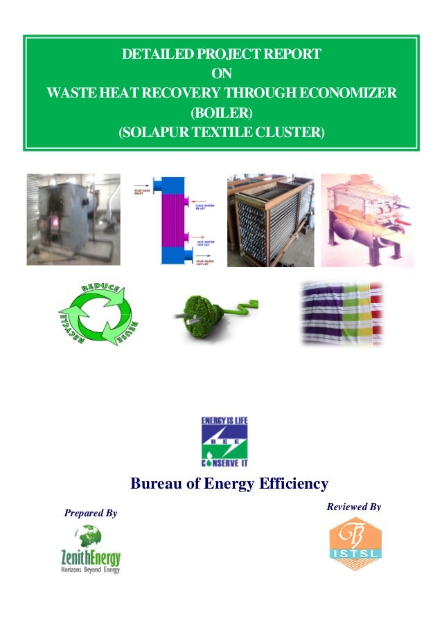 thesis report on waste heat recovery project In recent years, subbituminous plants however, these coals contain power plant waste heat to reduce this drying system uses a combination of thermal energy from boiler and.