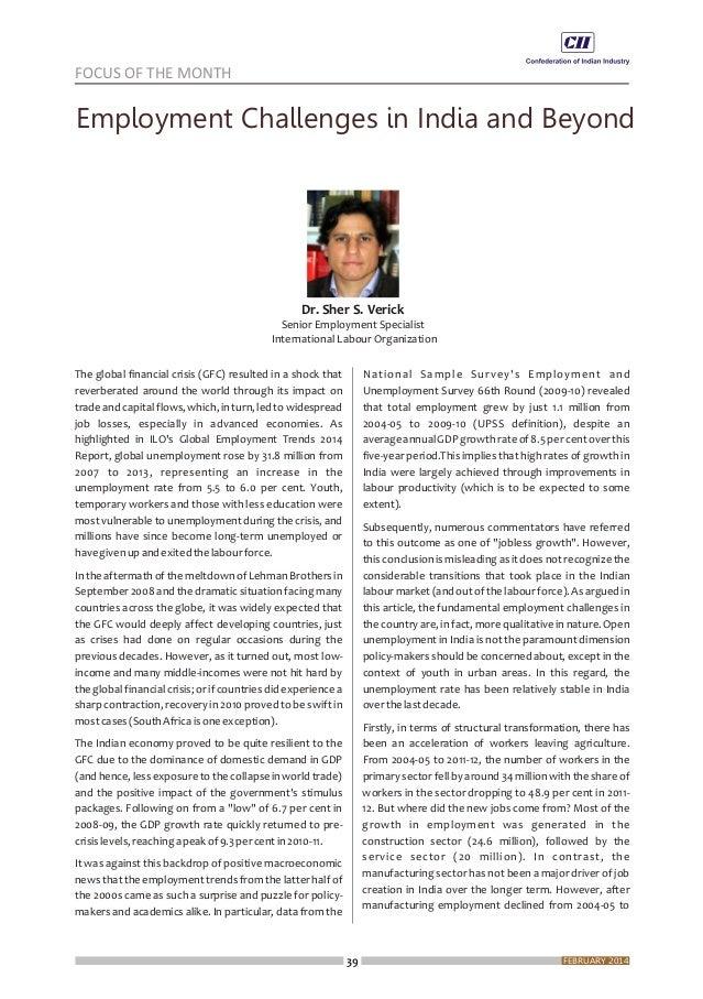 Economy Matters, February 2014
