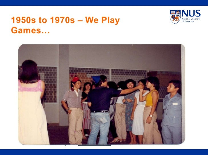 1950s to 1970s – We Play Games…