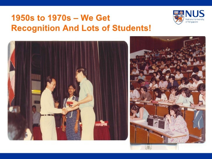 1950s to 1970s – We Get Recognition And Lots of Students!