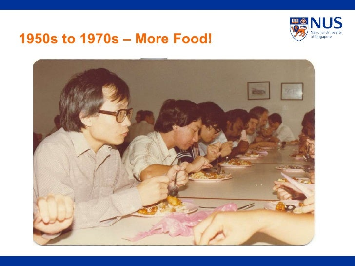 1950s to 1970s – More Food!