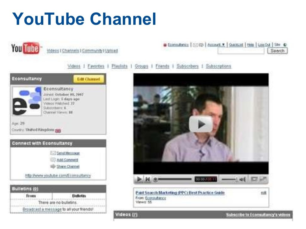 Channel case study