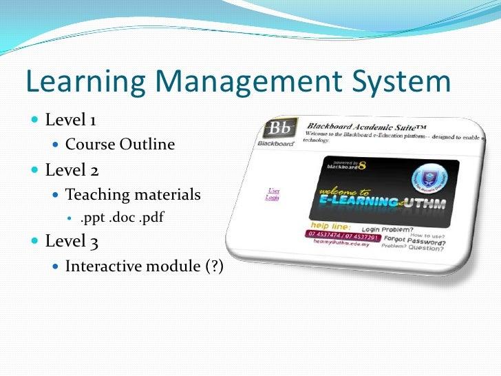 E-content Development @ Uthm
