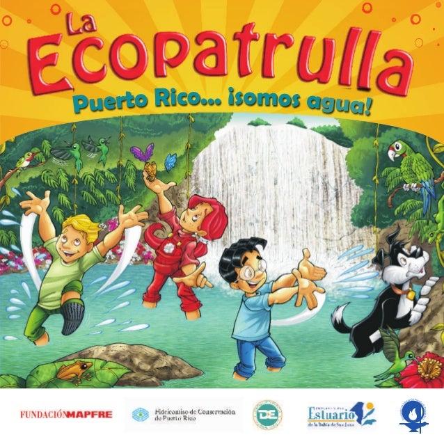 Puerto Rico…¡Somos agua! (10-12 años)