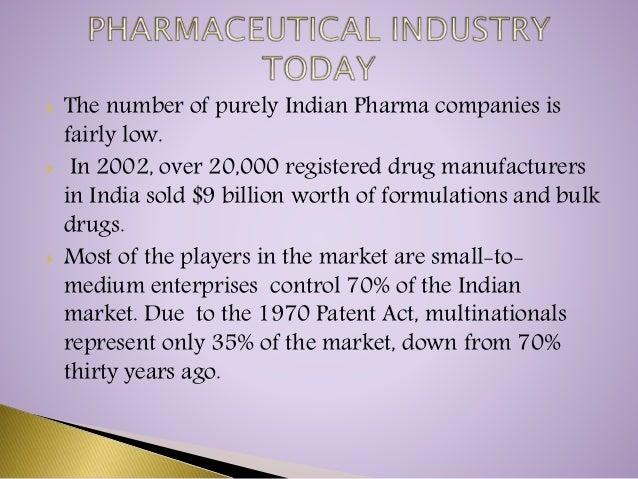 Pharma industry ppt.