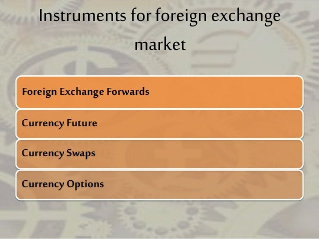 Foreign exchange market articles