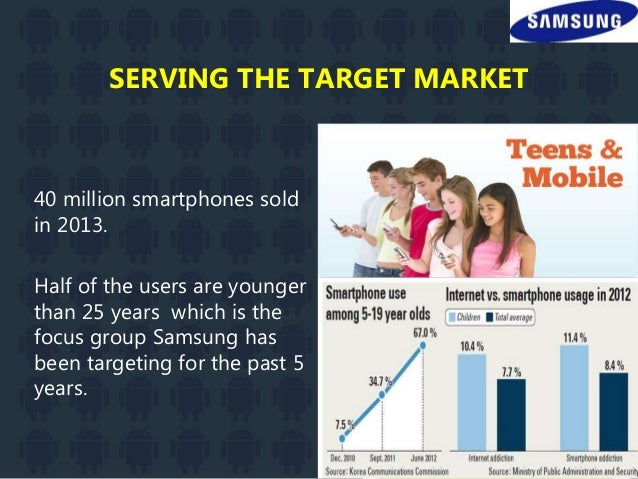 target market of samsung Learn the 7 different ways you can segment a market so that you can target your products and marketing effectively, and reach the right customers.