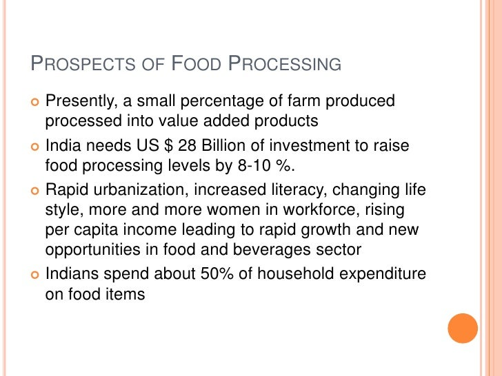 Food Processing Industry India