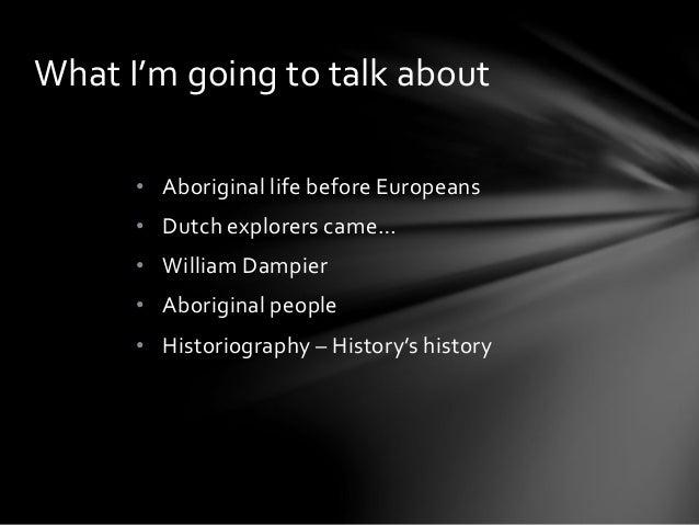 Aboriginal History - ACU Presentation