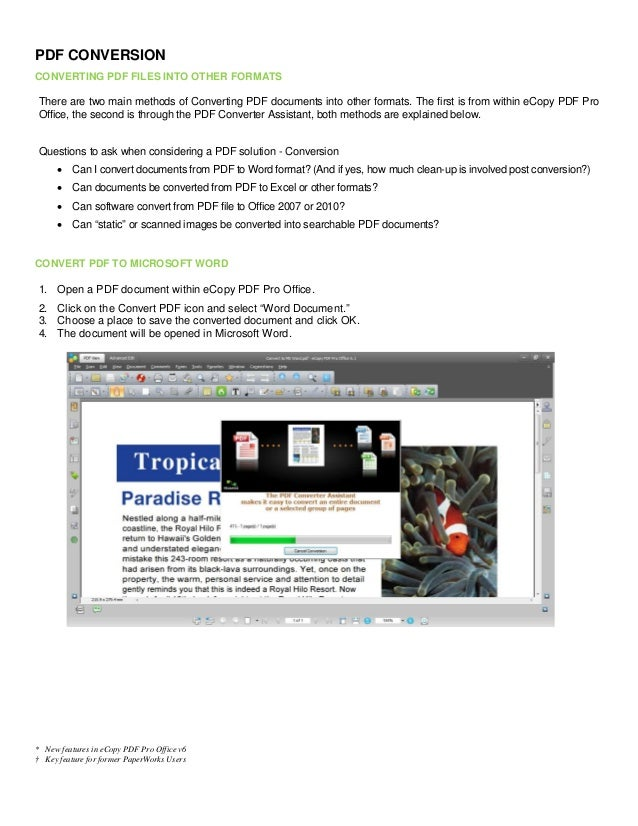 ecopy pdf pro office 6