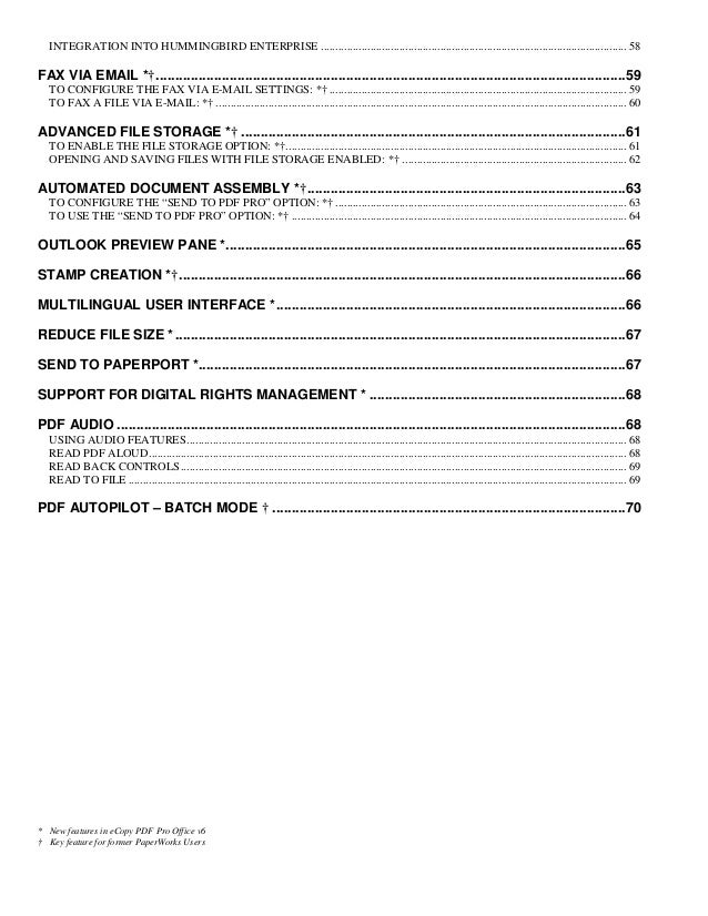 E copy pdf pro office 6 customer orientation guide
