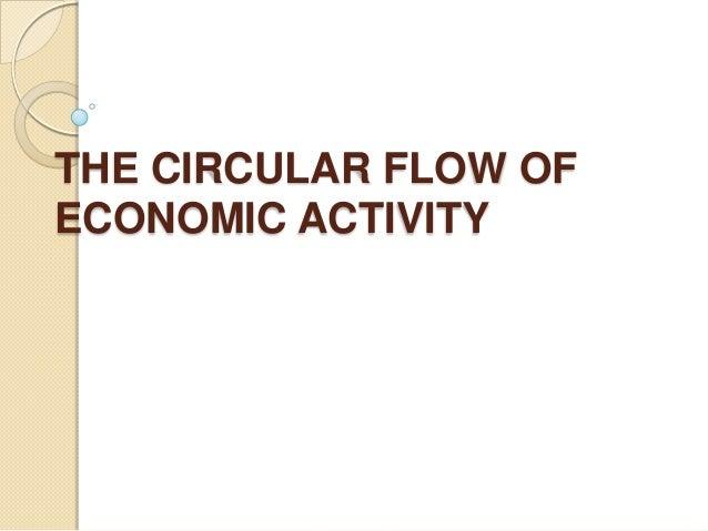 circular flow explanation
