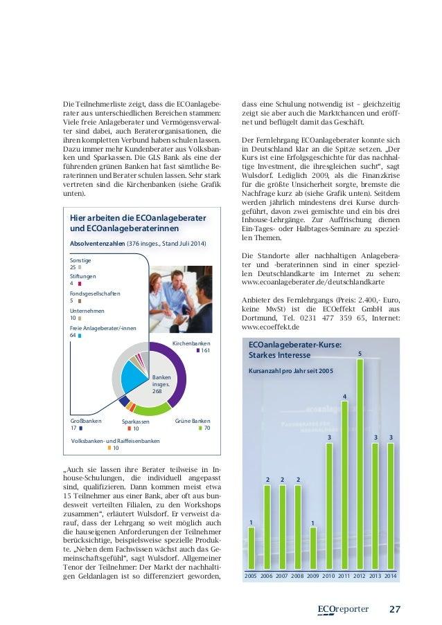 Len Und Leuchten Dortmund ecoreporter de magazin für nachhaltige geldanlage 2014