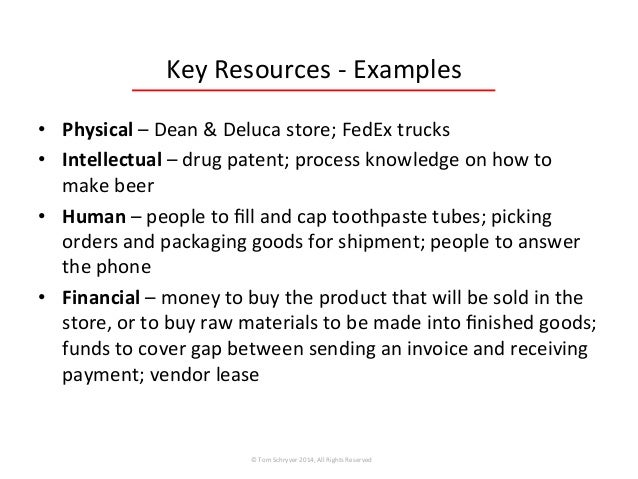 Financial resources, Finance