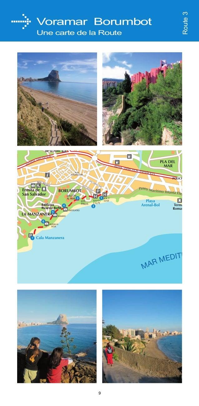 NOM DE LA ROUTE  DISTANCE  DURÉE  1  4.5 km  1 H 45'  2  2.5 km  1H  3  2 km  50'  4  3.2 km  1 H 10'  5  7.9 km  2 H 10' ...