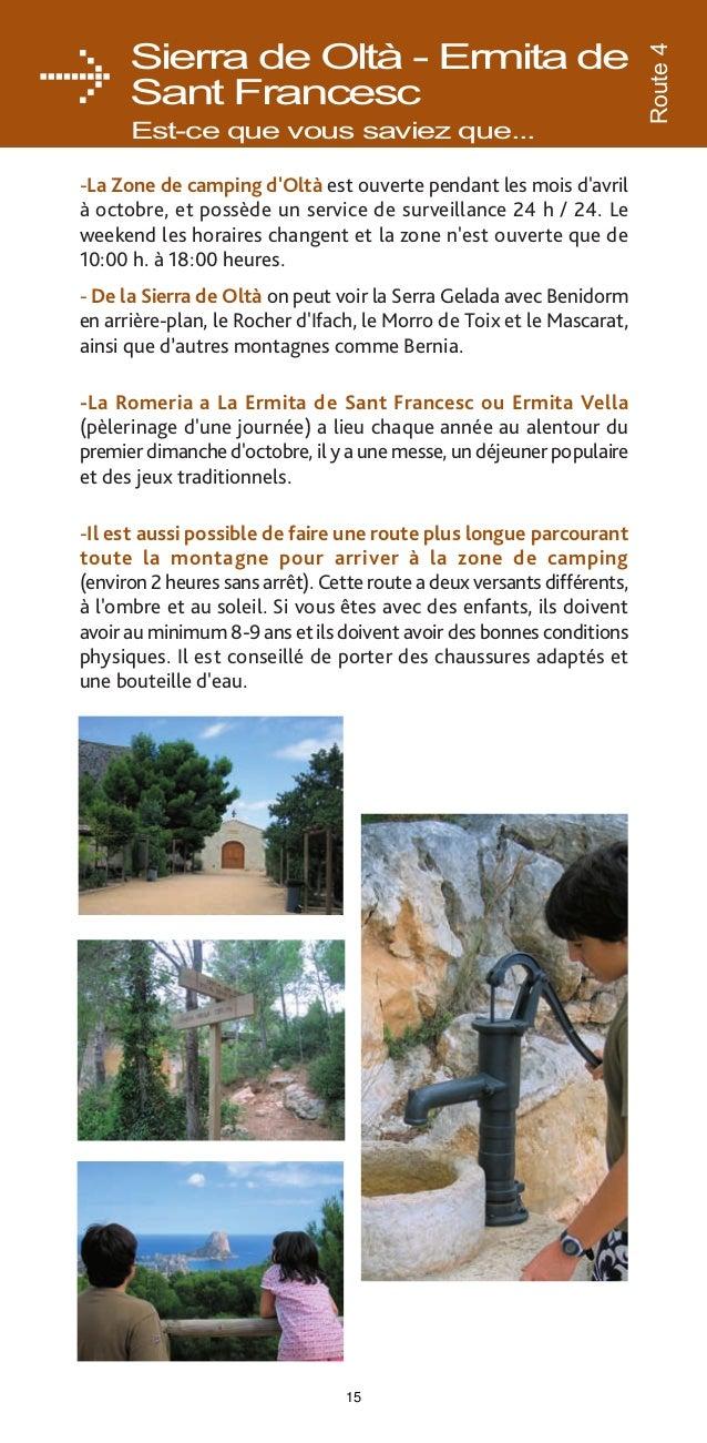 Route 5  Route par Oltà Route périphérique DURÉE  2 H 10'  À PARTIR ÂGE MINIMUM DE 8-9 ANS  POUSSETTE NON  PORTE BÉBÉ  NON...