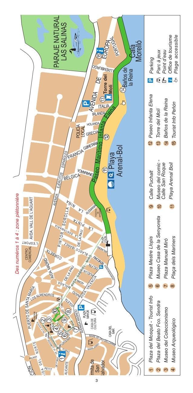 Route 1  De Calp aux Baños de la Reina  Est-ce que vous saviez que...  La route en famille commence au Tourist Info Centro...
