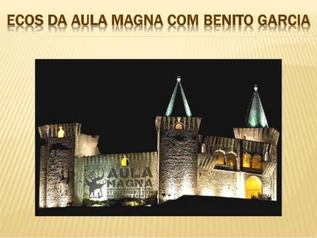Segundo Evento da Universidade da Tribo, a Aula Magna. O Benito veio de propósito de Barcelona – Espanha, para estar neste...