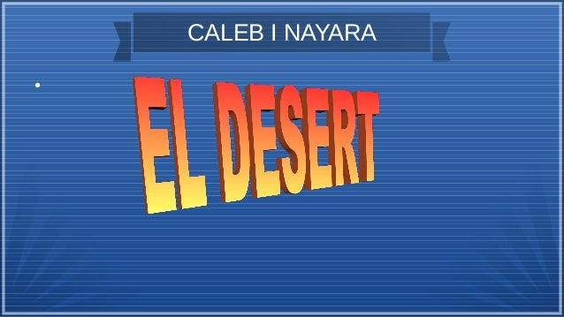 CALEB I NAYARA ●