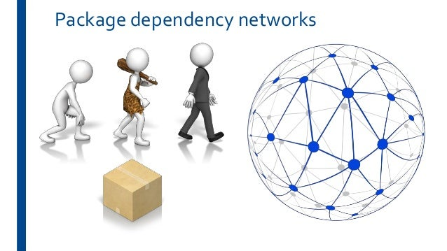 On the evolution of technical lag in the npm package dependency network Slide 3