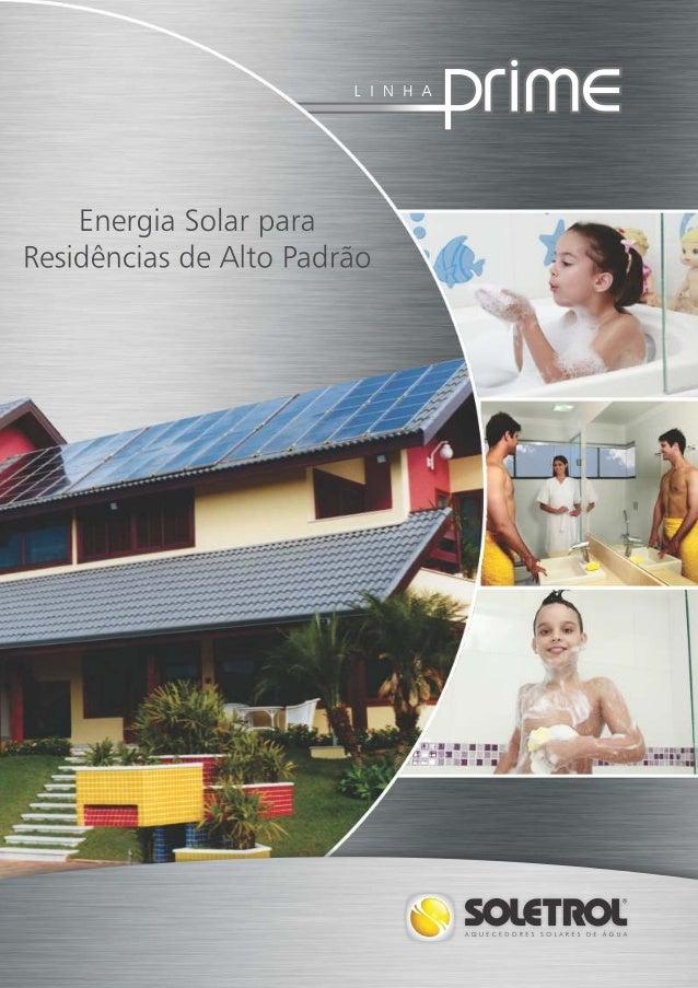 Ecosol aquecedores catálogos prime