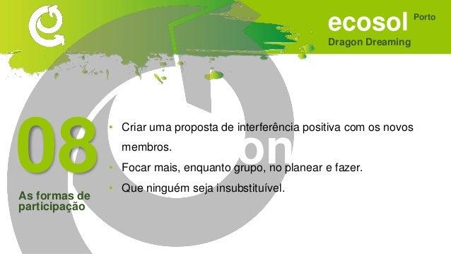 Apresentação ECOSOL / Dragon Dreaming - SONHAR
