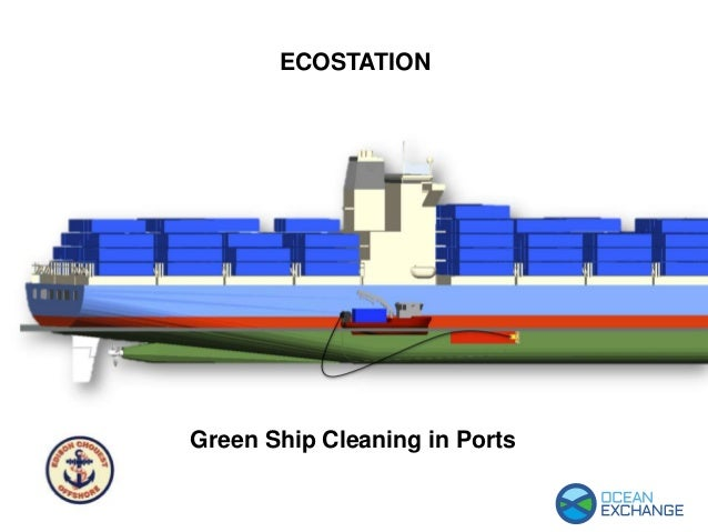 ECOSTATION Green Ship Cleaning in Ports