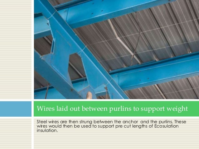 Insulation Between Purlin : How radiant barrier insulation can help keep metal roof