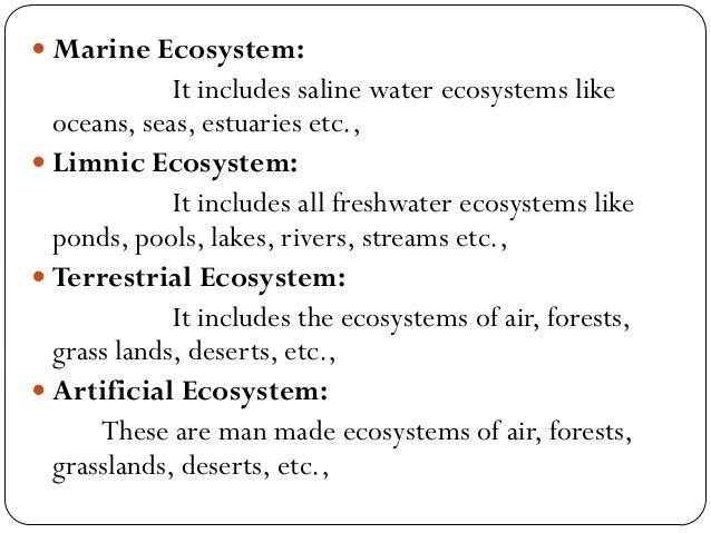 River Ecosystem  River ecosystems are prime examples of loticecosystems  Loticrefers to flowing water  It is a running ...
