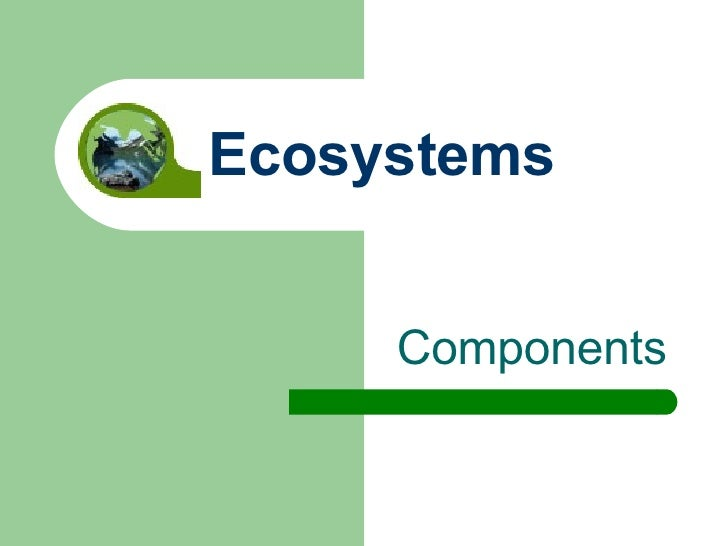 Components Ecosystems