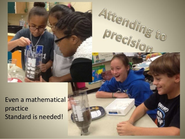 Even a mathematical practice Standard is needed!