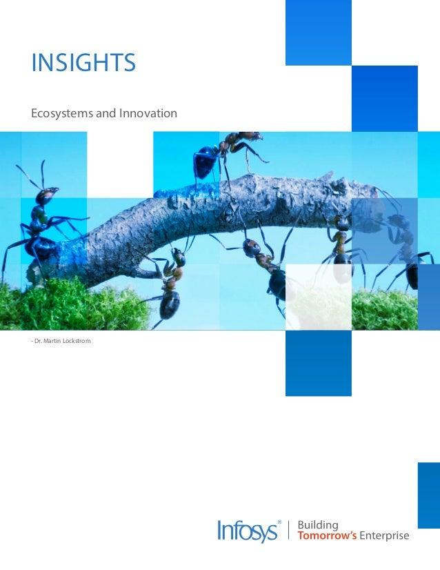 - Dr. Martin Lockstrom Ecosystems and Innovation INSIGHTS
