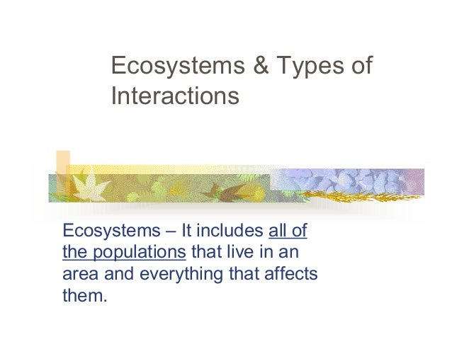 ecosystems interactions pdf. Black Bedroom Furniture Sets. Home Design Ideas