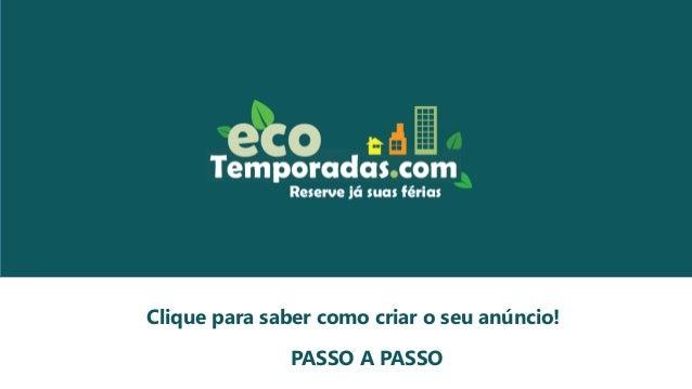 Welcome to PowerPoint Clique para saber como criar o seu anúncio! PASSO A PASSO