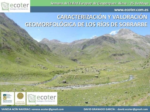 Semana de la Red Europea de Geoparques: Aínsa – 25 de Mayo                                                                ...