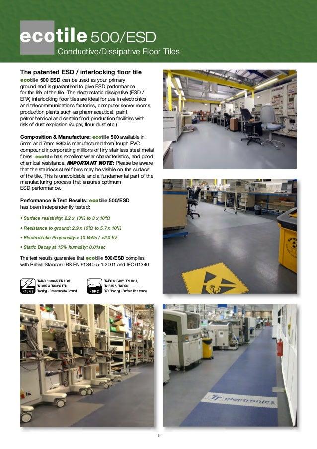 Ecotile Industrial Flooring Brochure