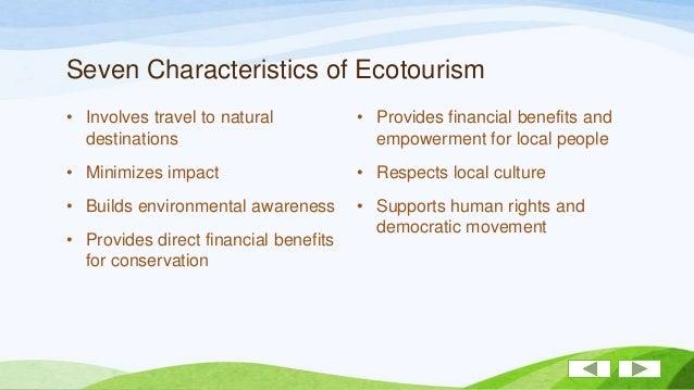 Nature Tourism Vs Ecotourism