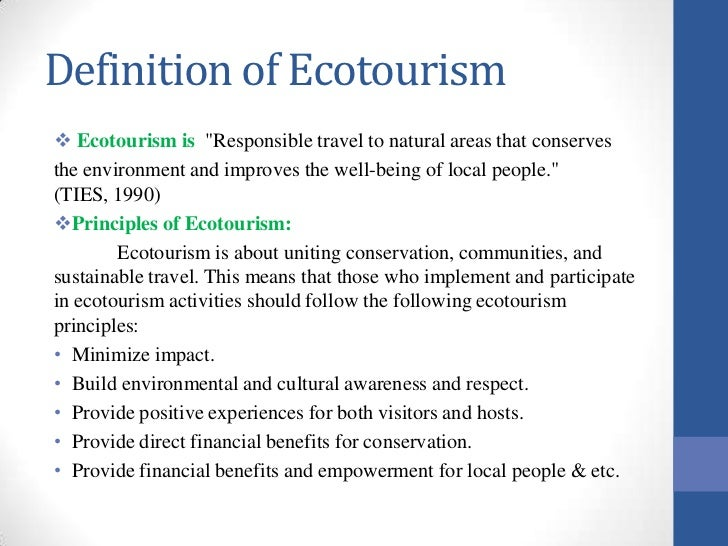 Economic Growth and Tourism
