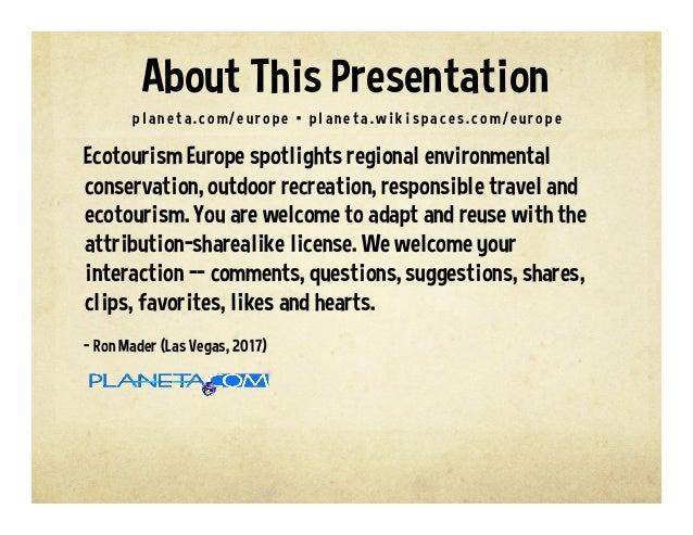 Ecotourism Europe Slide 2