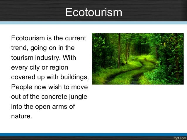 ecotourism notes Gcse geography revision section covering green and eco tourism.