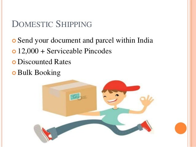 The best, cheapest & fastest courier services in India