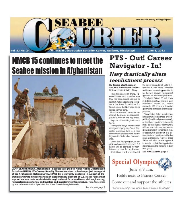 Special OlympicsSpecial OlympicsNaval Construction Battalion Center, Gulfport, Mississippi June 6, 2013Vol. 53 No. 24www.c...