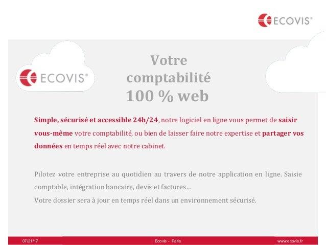 Ecovis France Votre Expert Comptable 100 Connecté