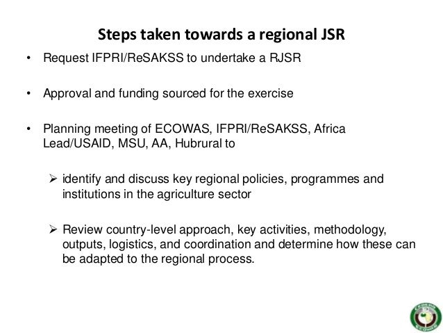 ecowas milestones in regional intergration Ecowas is to foster regional economic integration initiatives in acp countries1 the european commission intends to negotiate directly with existing regional groupings countries of existing and proposed regional integration measures.